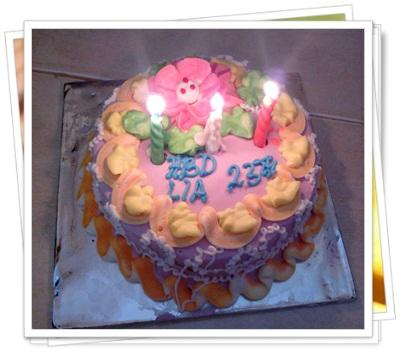 Birthday Cake for Lia