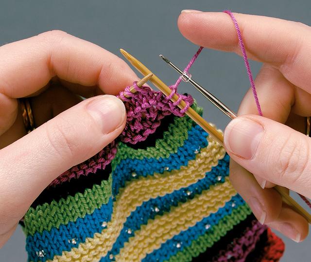 Knitting - gambar diambil dari www.i-am-bored.com